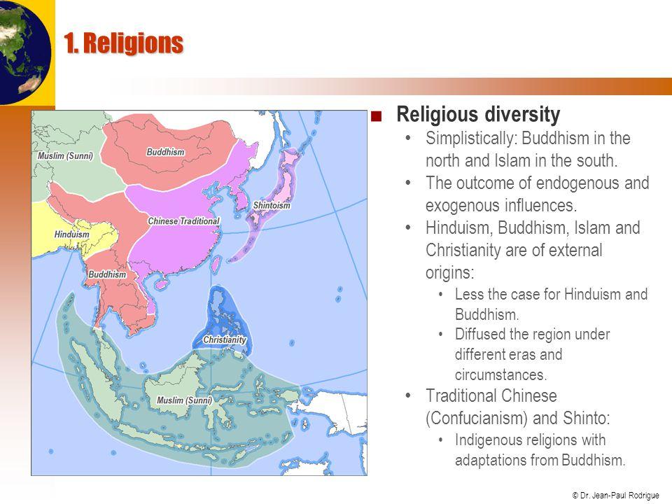 1. Religions Religious diversity