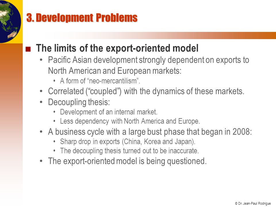 The limits of the export-oriented model