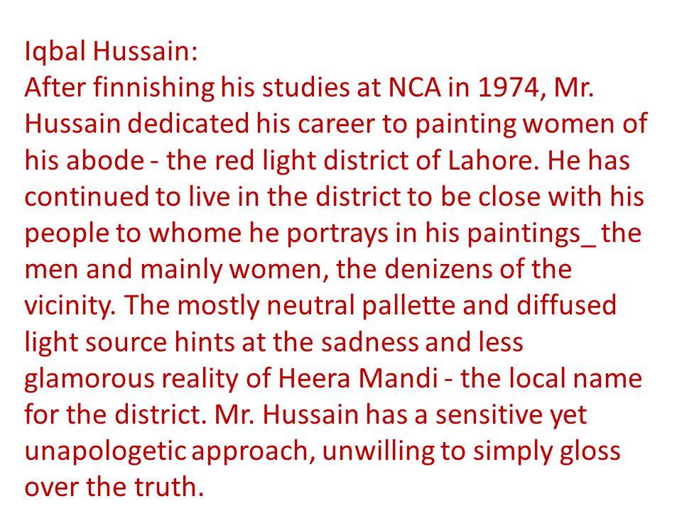 Iqbal Hussain: