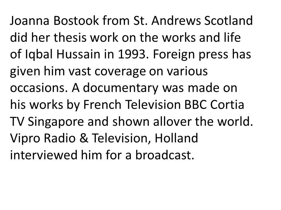 Joanna Bostook from St.