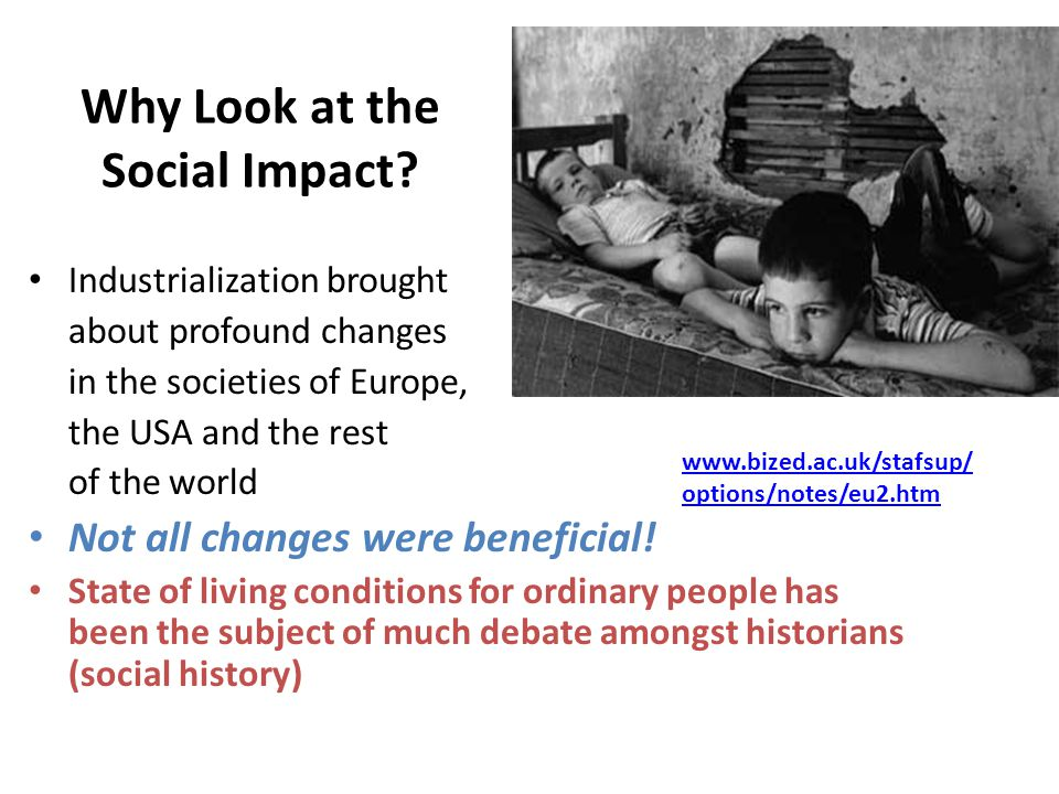 Why Look at the Social Impact