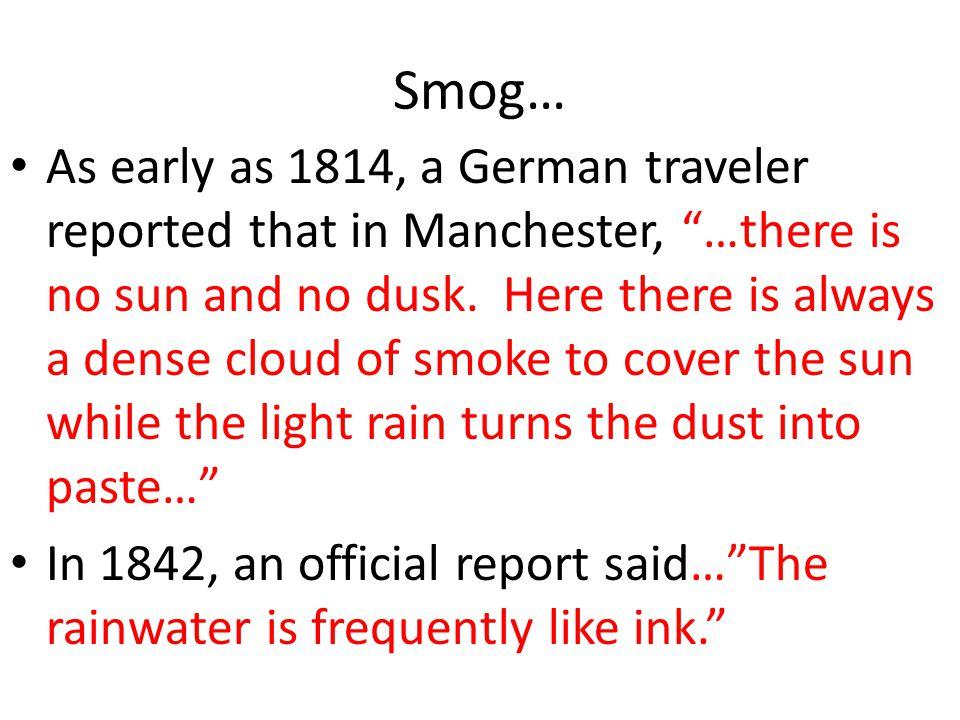 Smog…