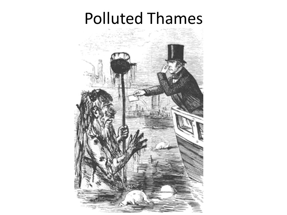 Polluted Thames