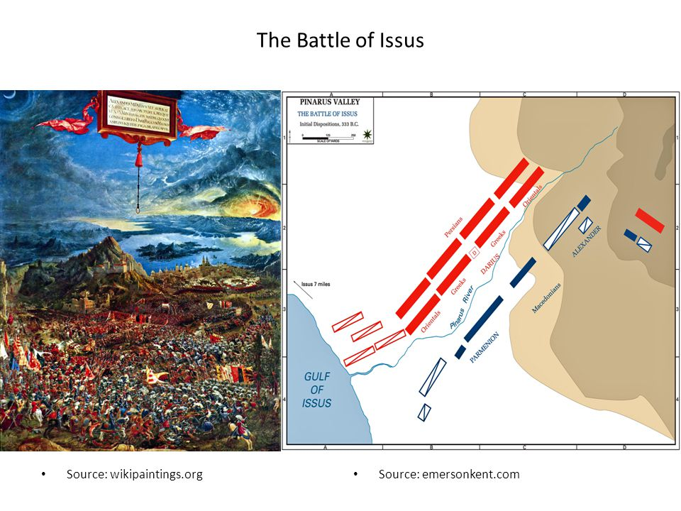 The Battle of Issus Source: wikipaintings.org Source: emersonkent.com