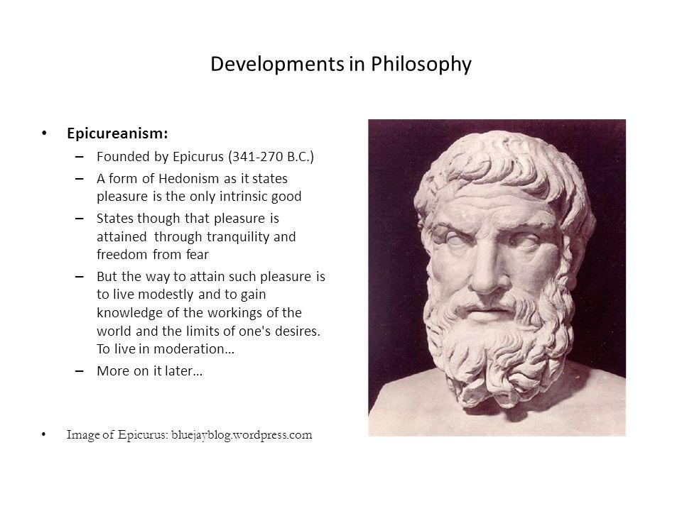 Developments in Philosophy