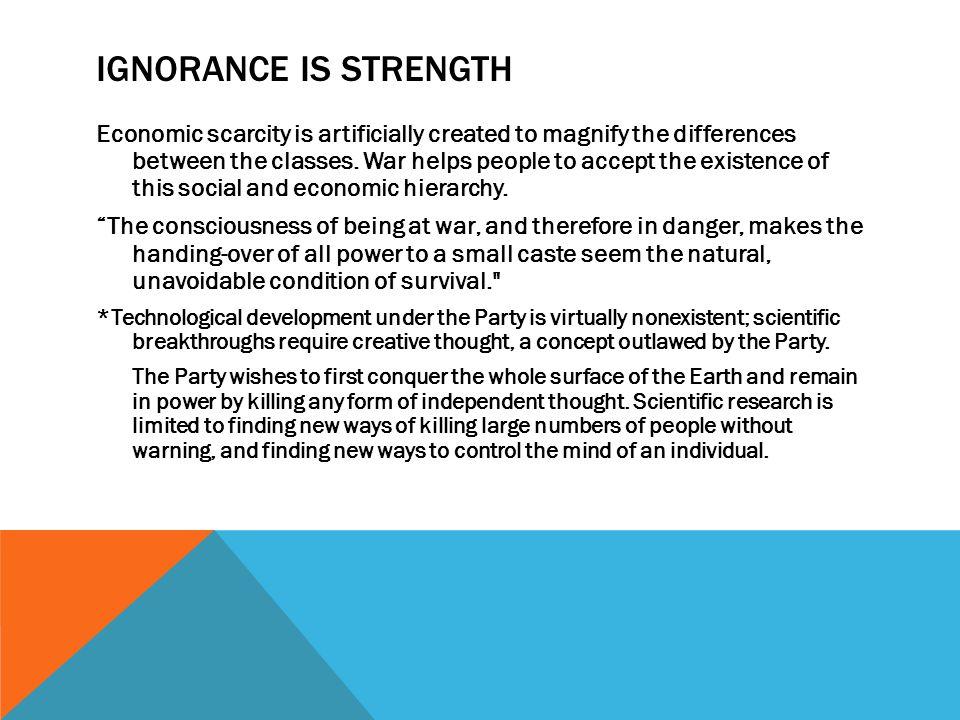 Ignorance is Strength