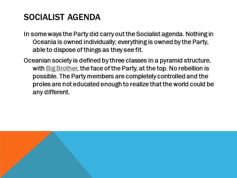 Socialist Agenda