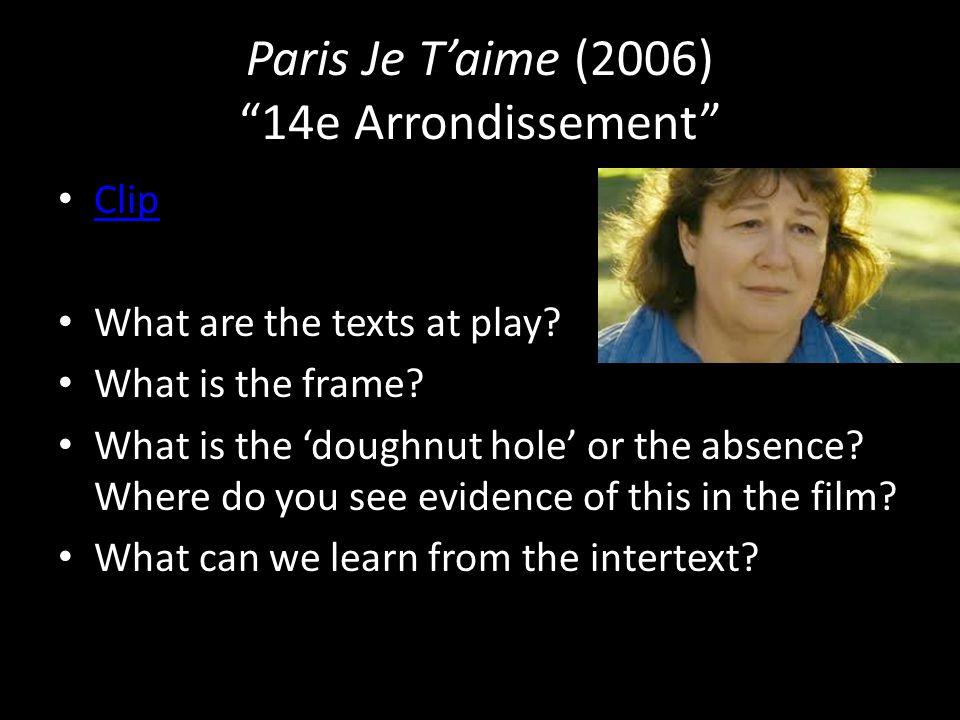 Paris Je T'aime (2006) 14e Arrondissement