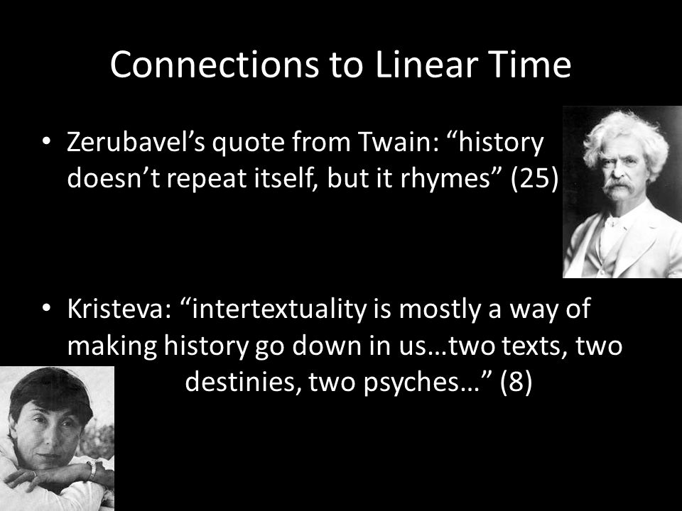 Connections to Linear Time