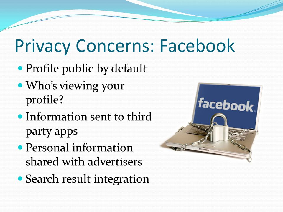 Privacy Concerns: Facebook