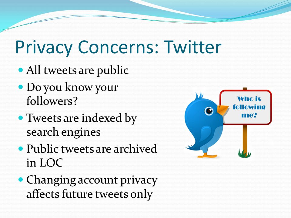 Privacy Concerns: Twitter