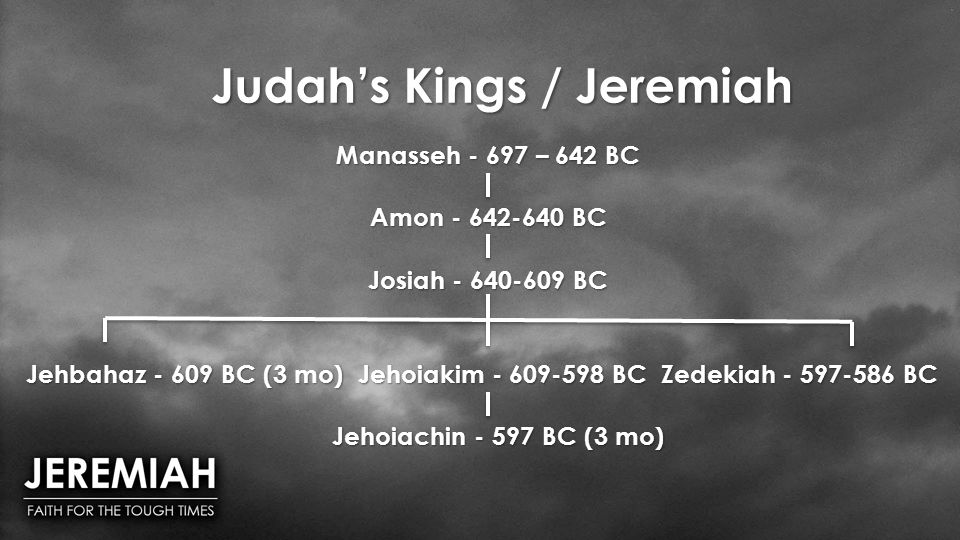 Judah's Kings / Jeremiah