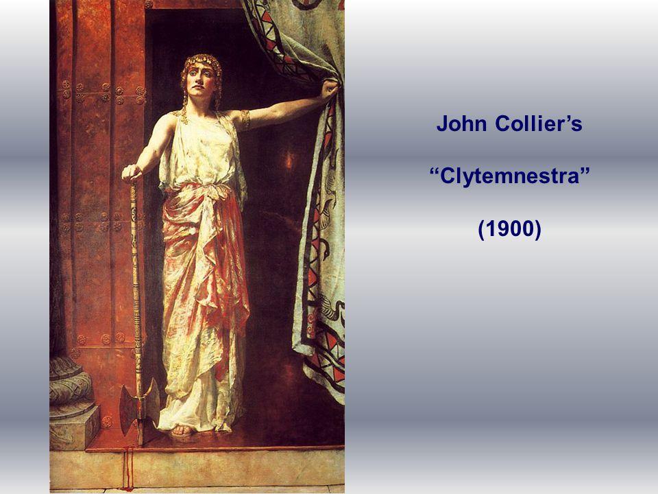 John Collier's Clytemnestra