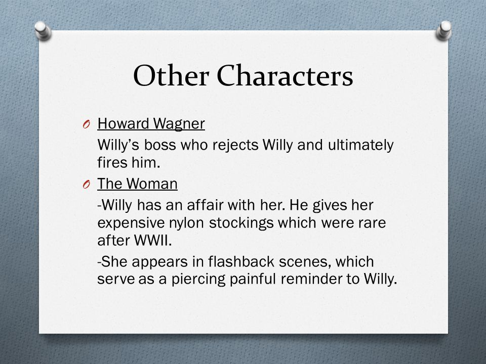 Other Characters Howard Wagner