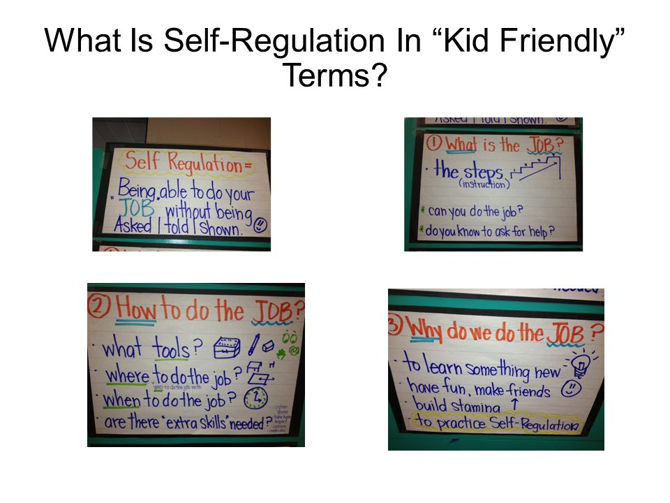 What Is Self-Regulation In Kid Friendly Terms