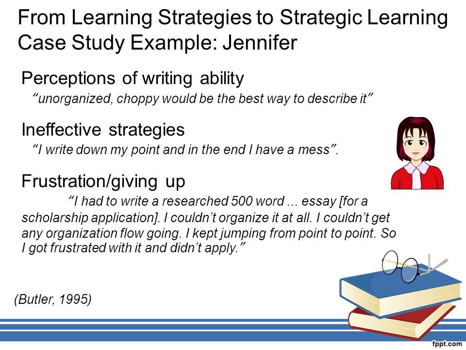 From Learning Strategies to Strategic Learning