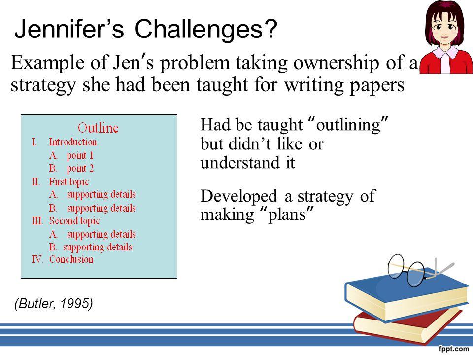 Jennifer's Challenges