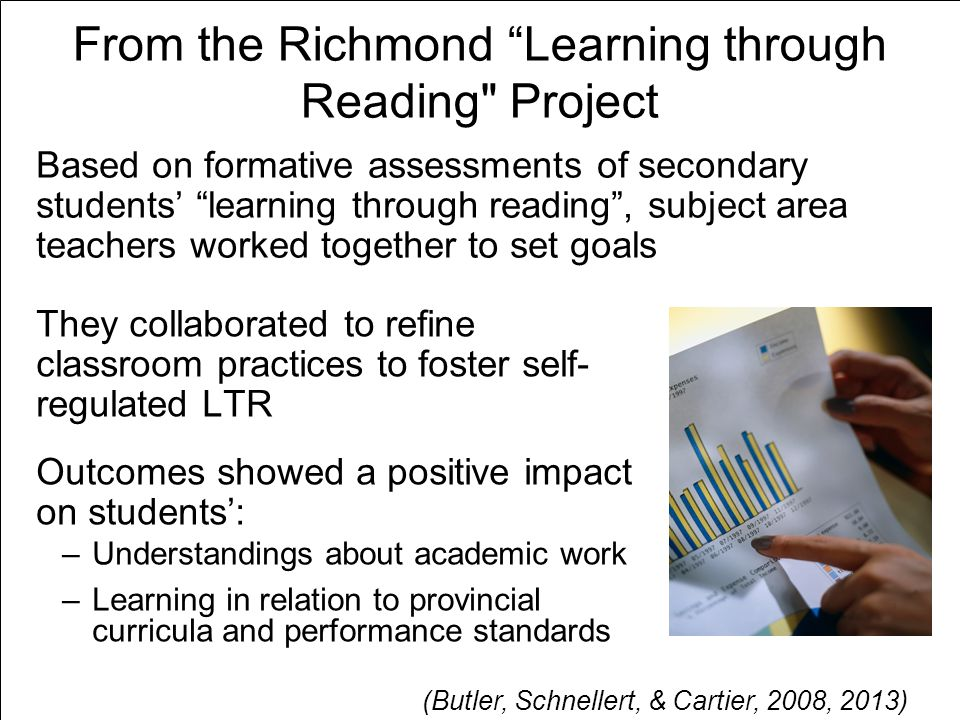 From the Richmond Learning through Reading Project