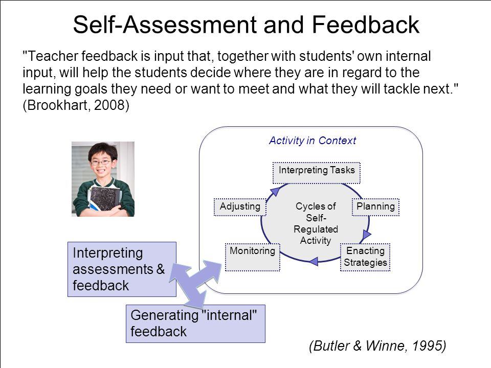 Self-Assessment and Feedback