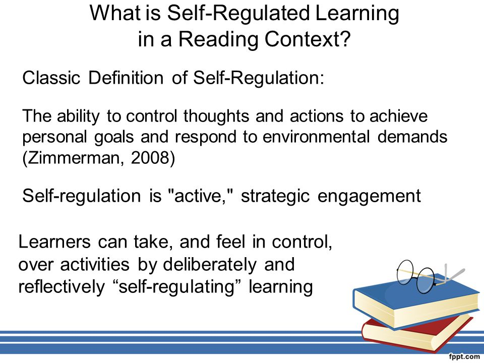 What is Self-Regulated Learning in a Reading Context