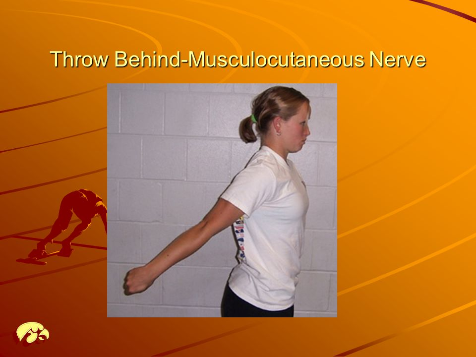 Throw Behind-Musculocutaneous Nerve