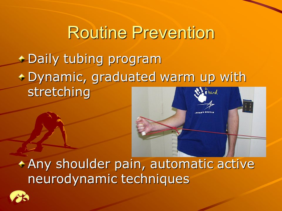 Routine Prevention Daily tubing program