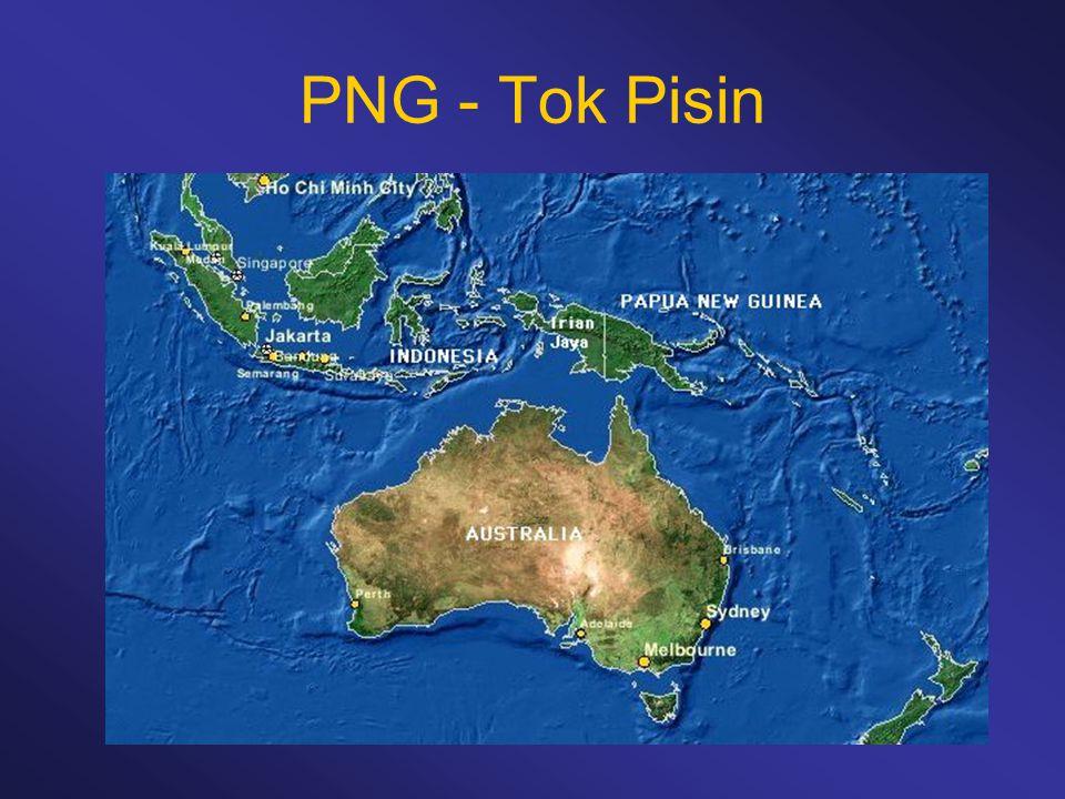 PNG - Tok Pisin