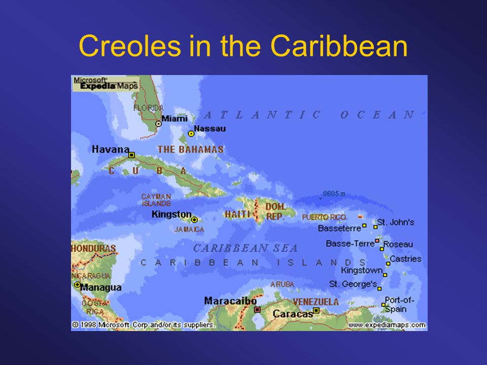 Creoles in the Caribbean