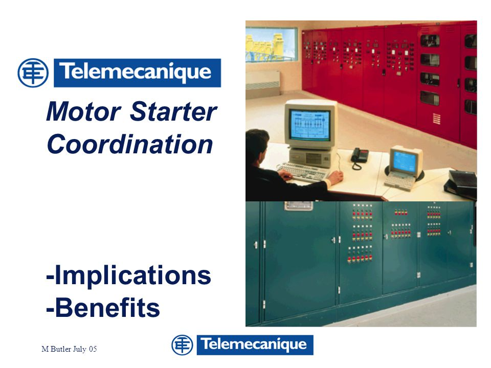 Motor Starter Coordination