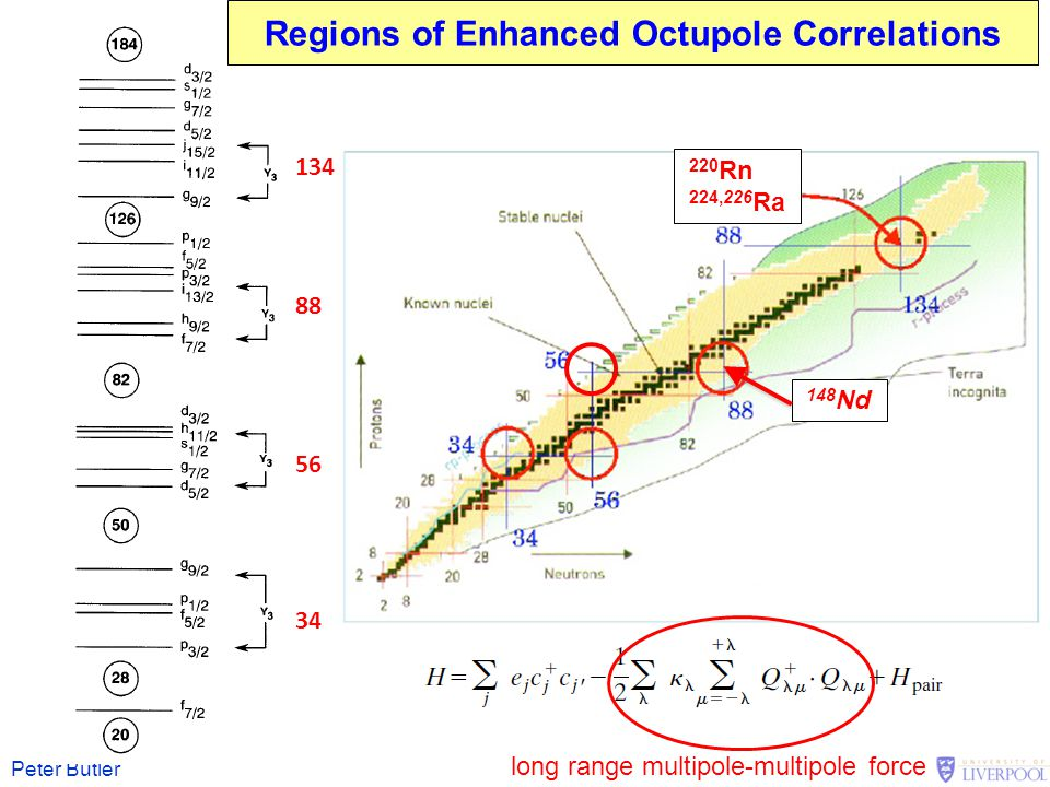 Regions of Enhanced Octupole Correlations