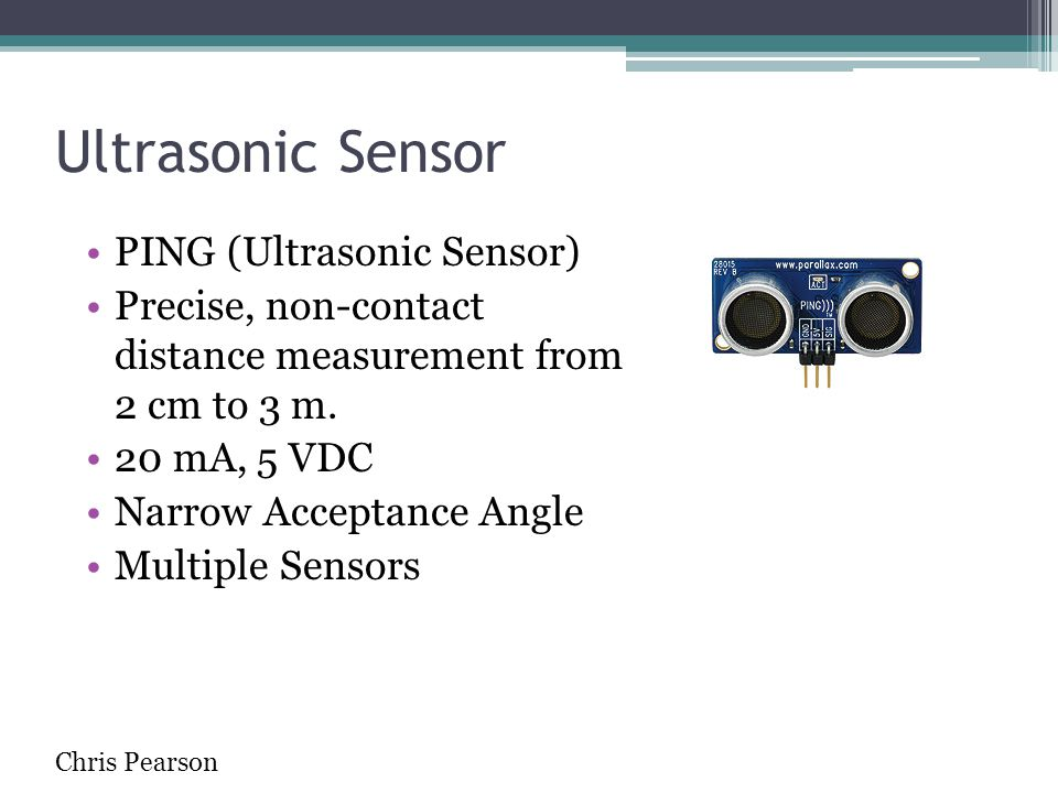 Ultrasonic Sensor PING (Ultrasonic Sensor)