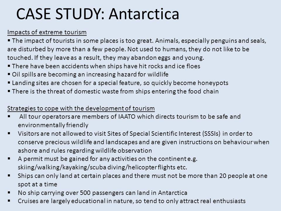 CASE STUDY: Antarctica