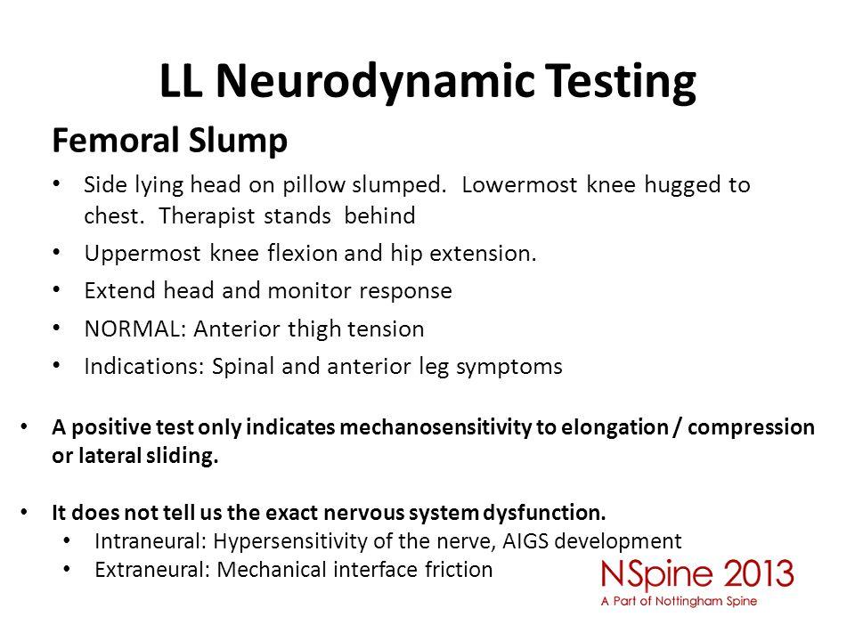 LL Neurodynamic Testing