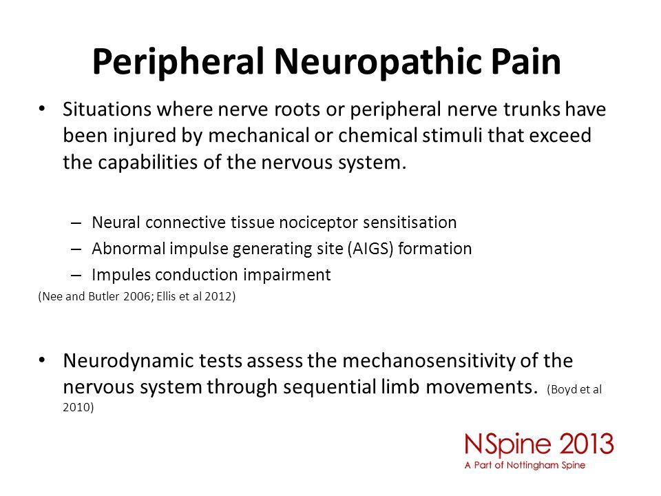 Peripheral Neuropathic Pain