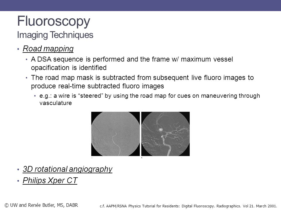 Fluoroscopy Imaging Techniques