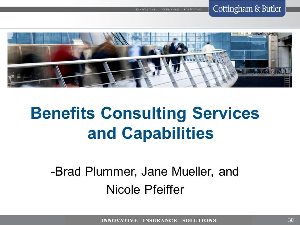 Benefits Consulting Services and Capabilities