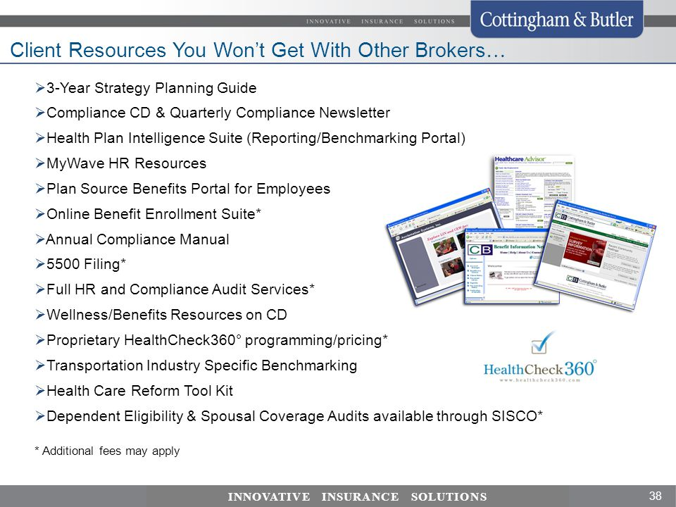 Client Resources You Won't Get With Other Brokers…