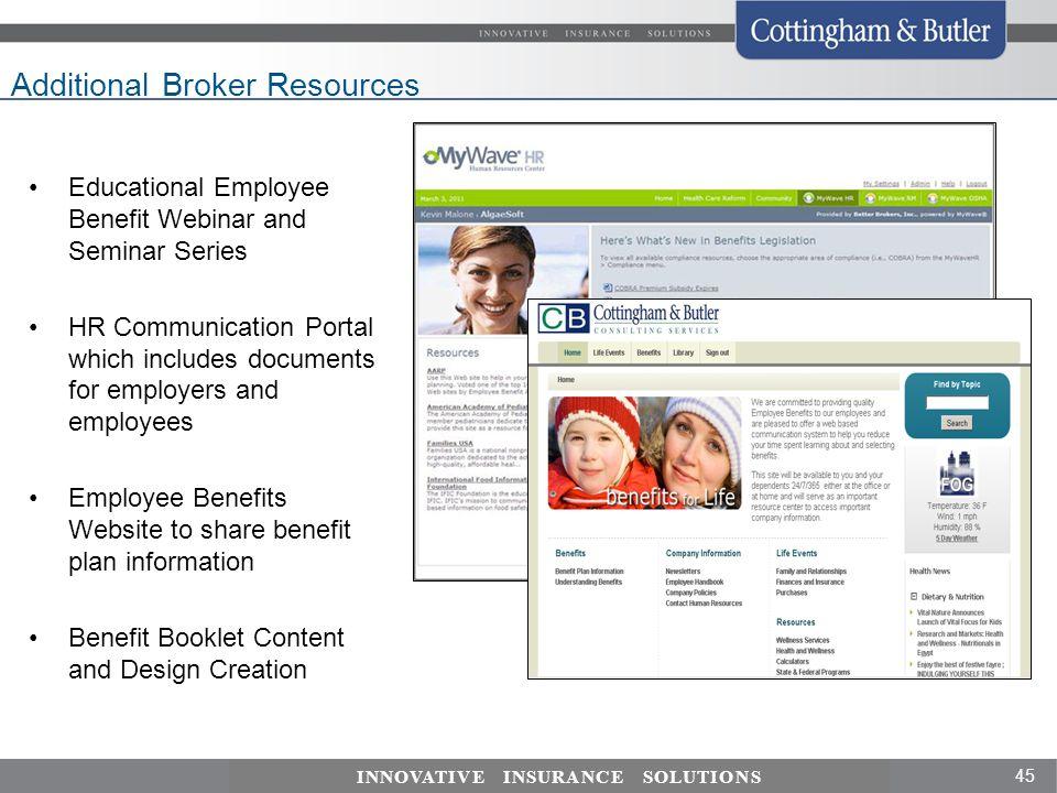 Additional Broker Resources