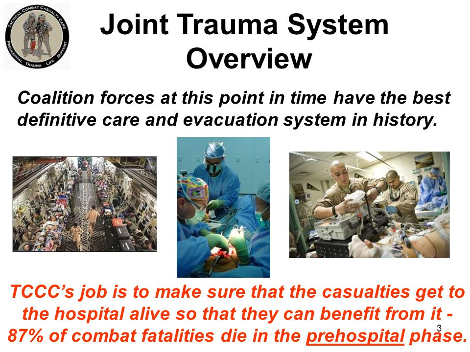 Joint Trauma System Overview