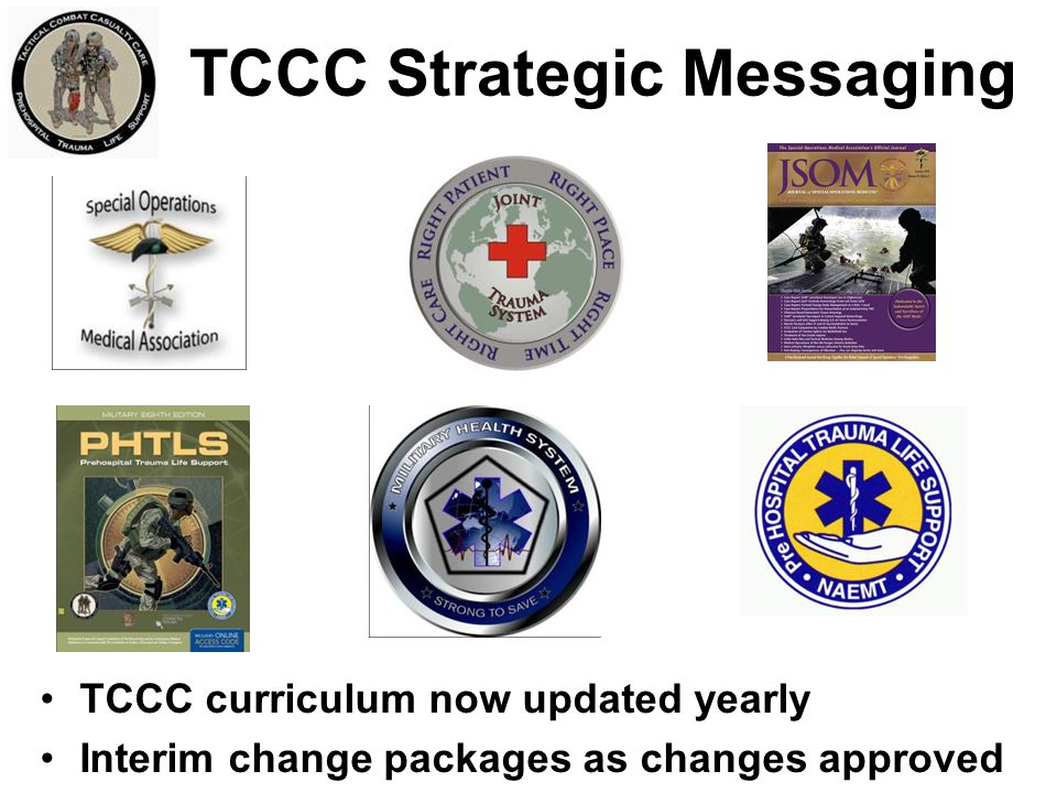 TCCC Strategic Messaging