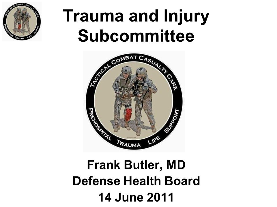 Trauma and Injury Subcommittee