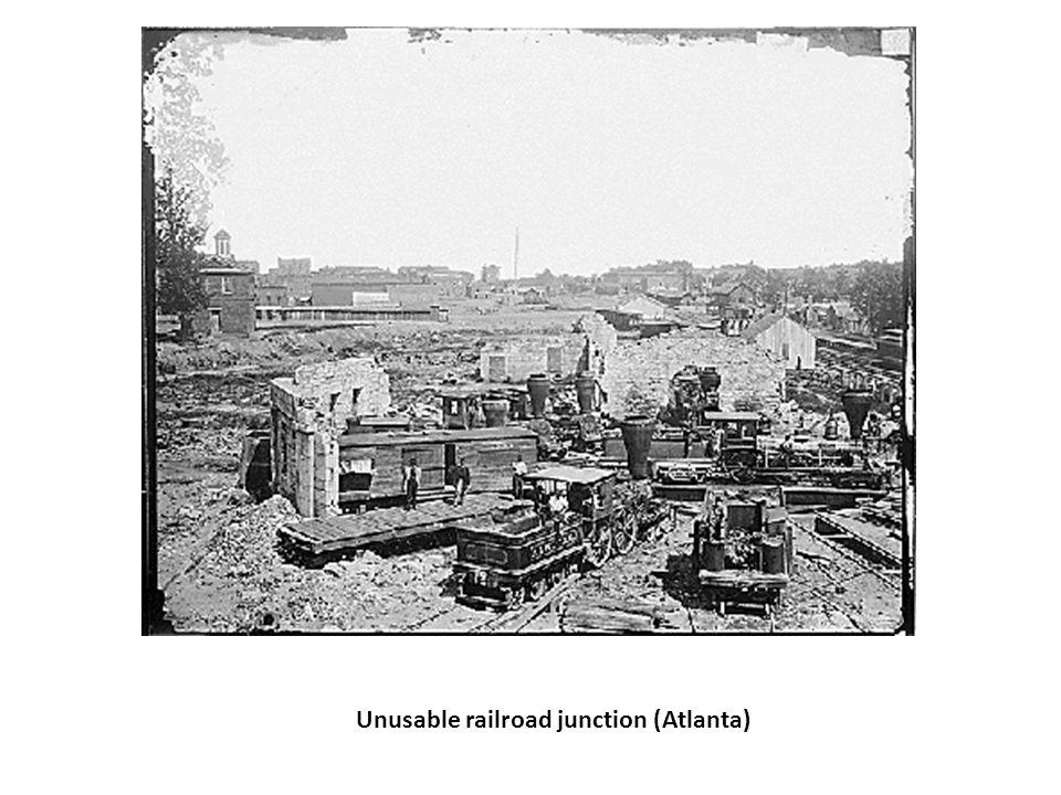 Unusable railroad junction (Atlanta)