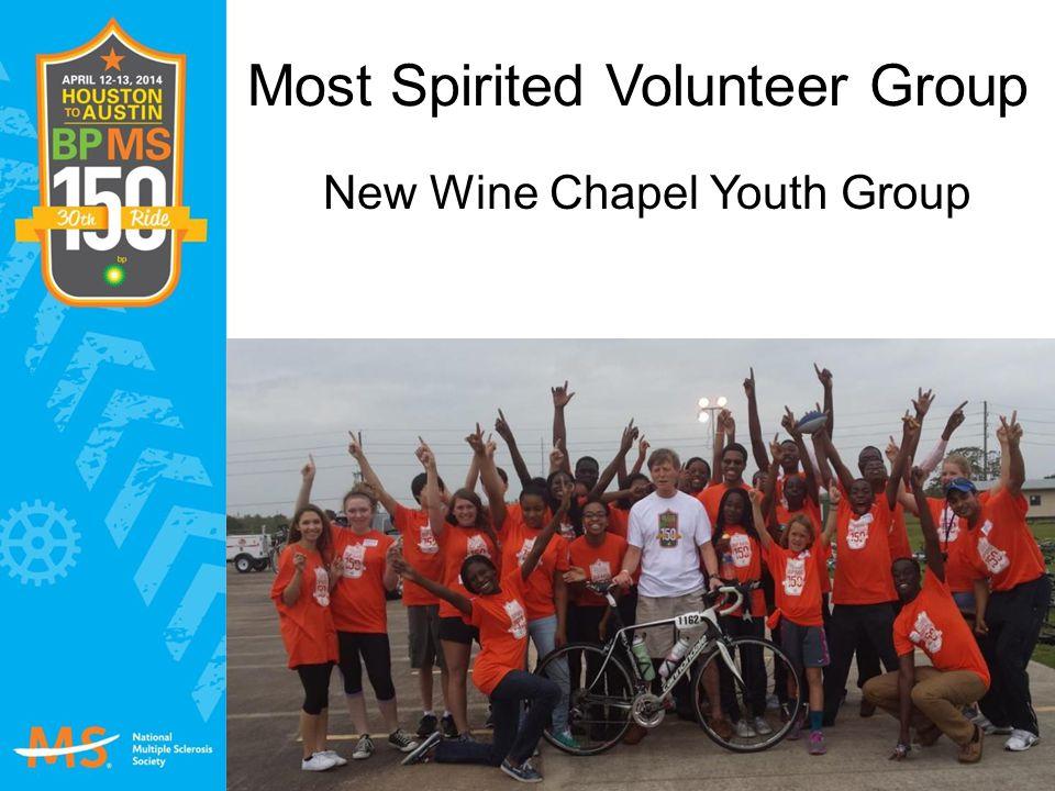Most Spirited Volunteer Group