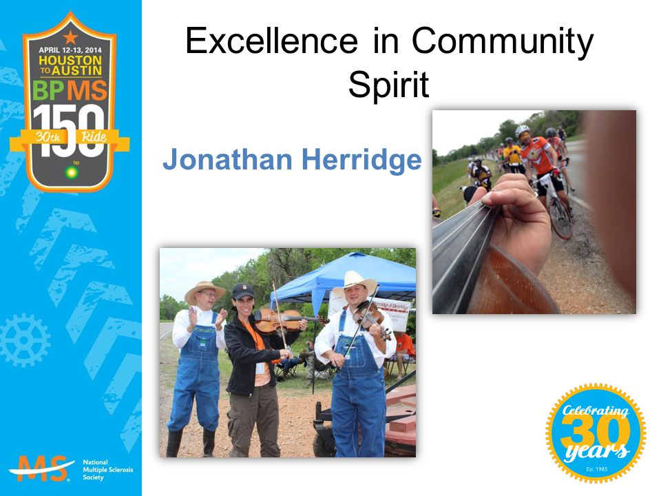 Excellence in Community Spirit