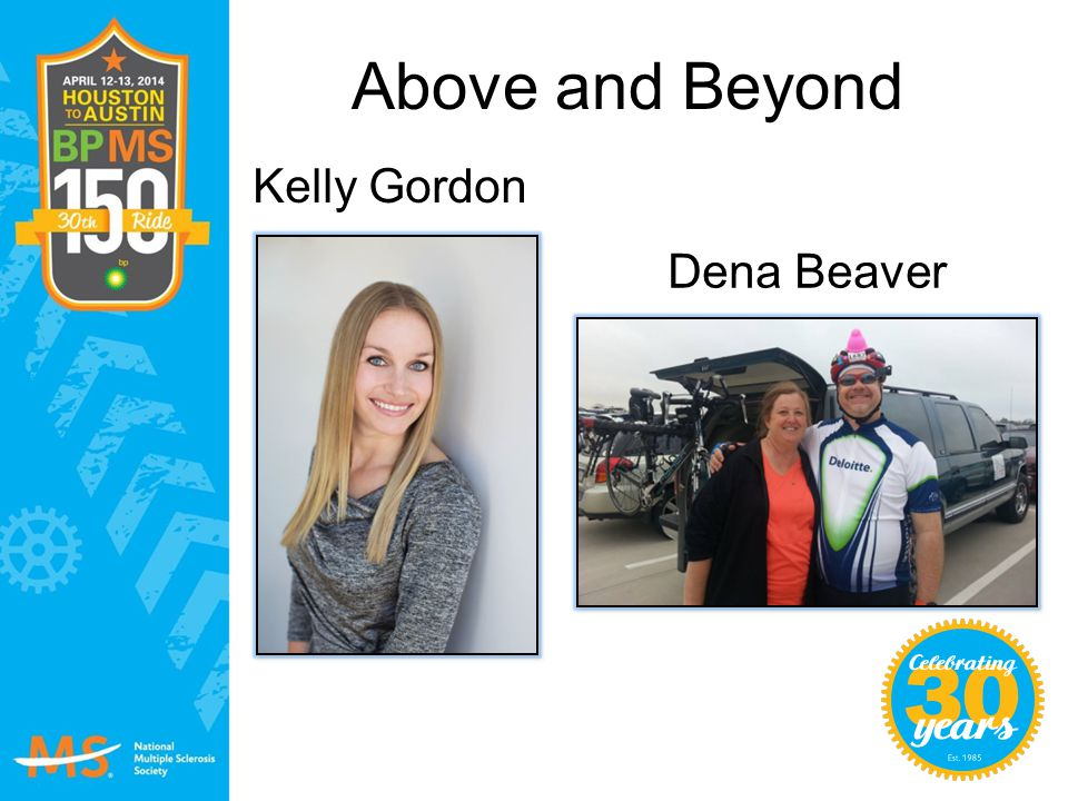 Above and Beyond Kelly Gordon Dena Beaver