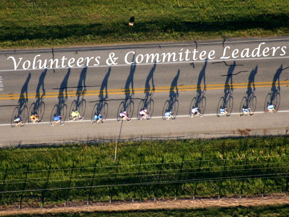 Volunteers & Committee Leaders
