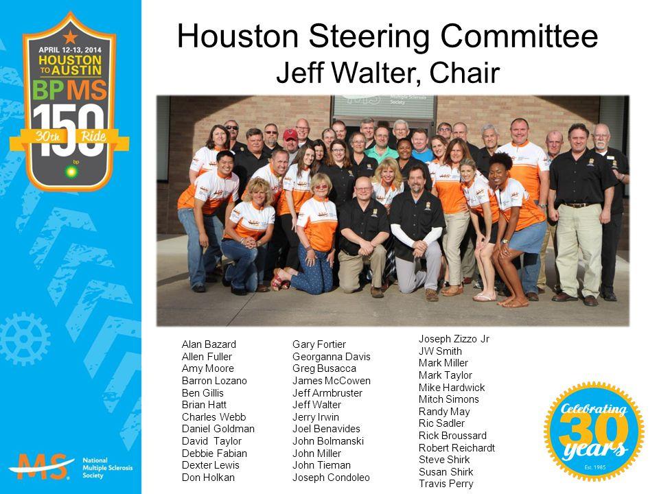 Houston Steering Committee Jeff Walter, Chair