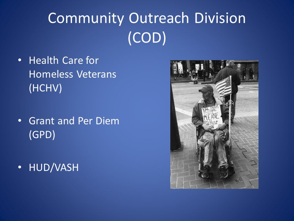 Community Outreach Division (COD)
