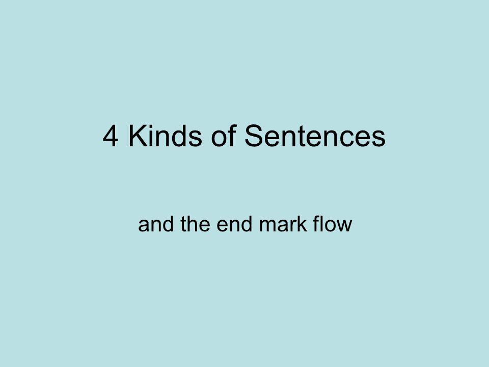 four kinds of sentences 1