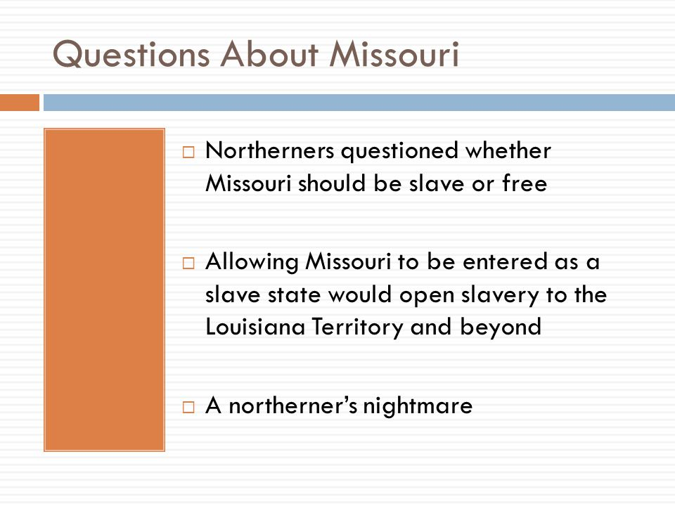 Questions About Missouri